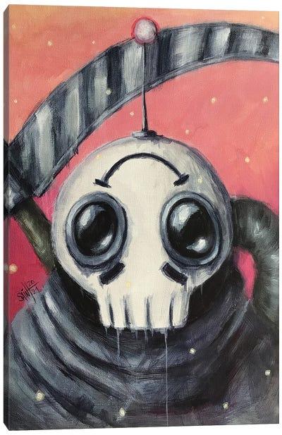 Reaper Robot Canvas Art Print