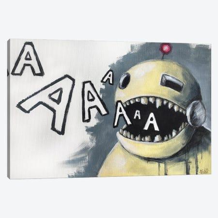 Robot Singer Canvas Print #RSA53} by Ruslan Aksenov Canvas Art