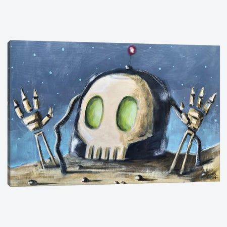 Robot Zombie III Canvas Print #RSA55} by Ruslan Aksenov Canvas Art Print