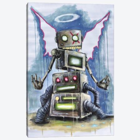 Sci-Fi Angel Canvas Print #RSA58} by Ruslan Aksenov Canvas Art