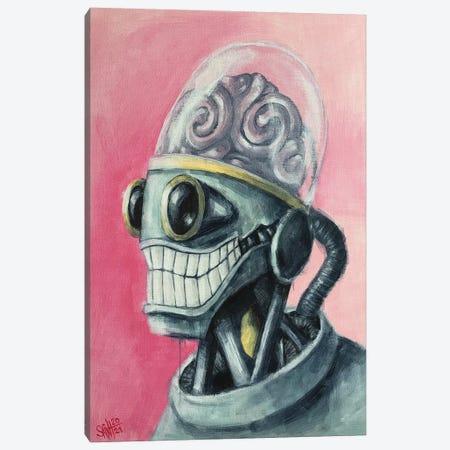 Brain Bot Canvas Print #RSA5} by Ruslan Aksenov Canvas Wall Art