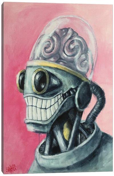 Brain Bot Canvas Art Print