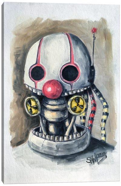 Clown Canvas Art Print