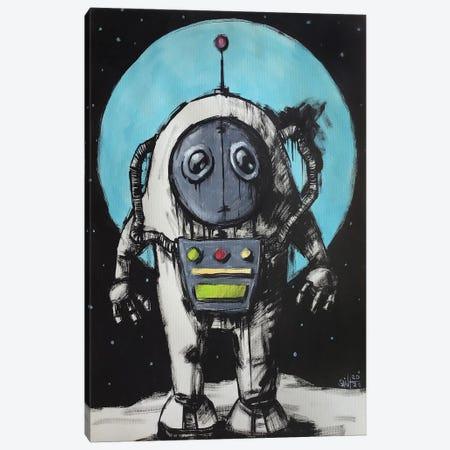 Cosmonaut Canvas Print #RSA9} by Ruslan Aksenov Art Print