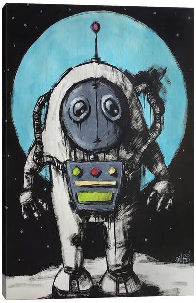 Cosmonaut Canvas Art Print