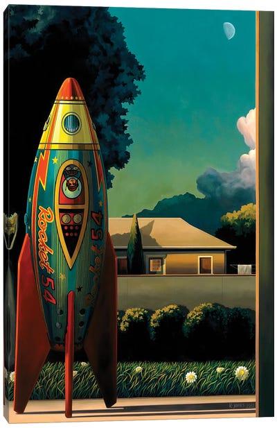 Rocketman Canvas Art Print