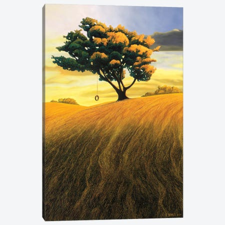 Summer Days Canvas Print #RSJ13} by Ross Jones Canvas Art Print