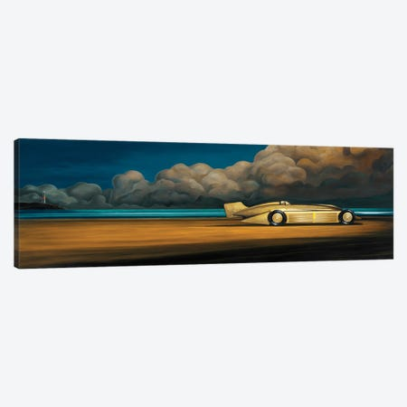 Golden Arrow Canvas Print #RSJ16} by Ross Jones Canvas Artwork