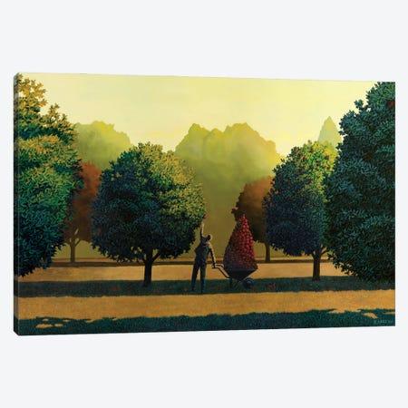 Greed Canvas Print #RSJ18} by Ross Jones Canvas Print