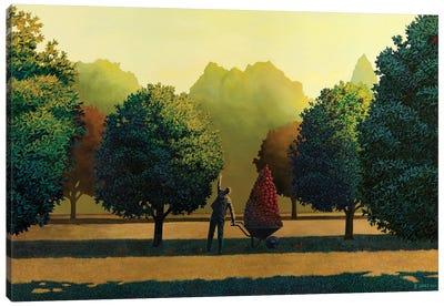 Greed Canvas Art Print