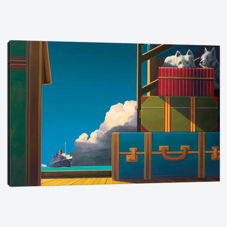 Stowaways Canvas Print #RSJ21} by Ross Jones Canvas Wall Art