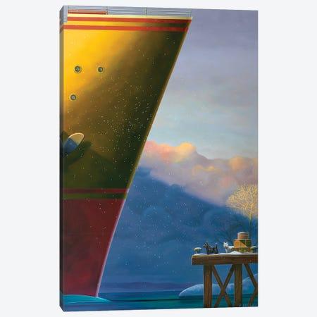 Arrival Canvas Print #RSJ22} by Ross Jones Canvas Wall Art