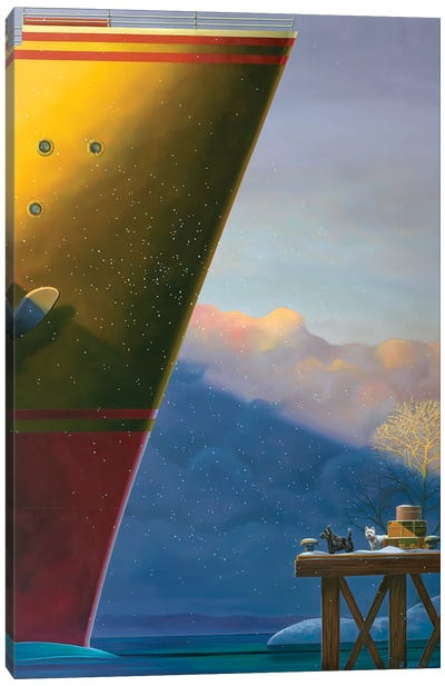Arrival Canvas Art Print
