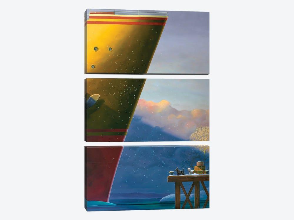 Arrival by Ross Jones 3-piece Canvas Art Print
