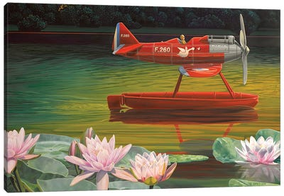 En Route Canvas Art Print