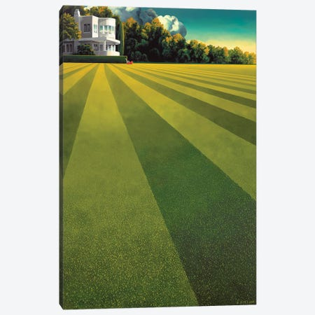 Constant Gardener Canvas Print #RSJ24} by Ross Jones Canvas Art Print