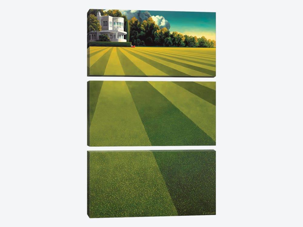 Constant Gardener by Ross Jones 3-piece Canvas Art Print