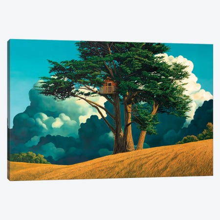 Secret Place Canvas Print #RSJ26} by Ross Jones Canvas Print