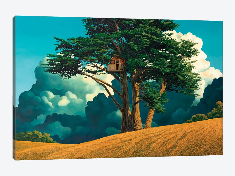 Secret Place by Ross Jones 1-piece Canvas Print