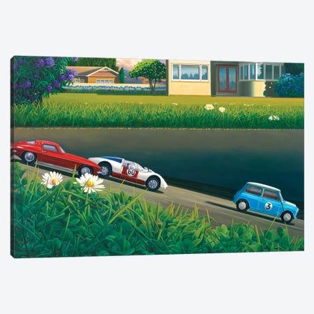 Downhill Racers Canvas Print #RSJ27} by Ross Jones Canvas Print