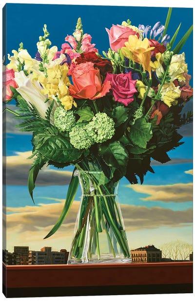 Summer In A Vase Canvas Art Print