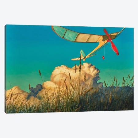 Light Air Canvas Print #RSJ35} by Ross Jones Canvas Wall Art
