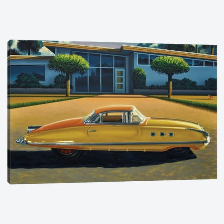 Turismo Packard Canvas Print #RSJ37} by Ross Jones Canvas Wall Art