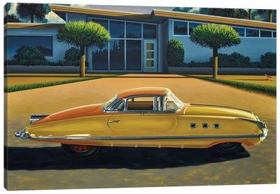 Turismo Packard Canvas Art Print