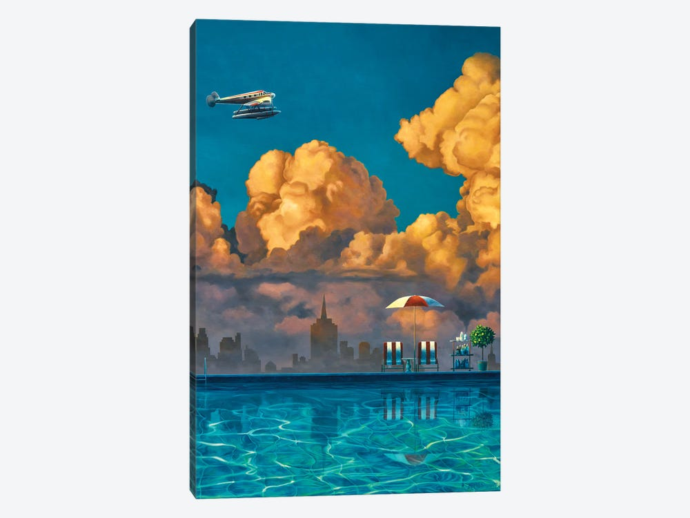 Stopover by Ross Jones 1-piece Canvas Wall Art
