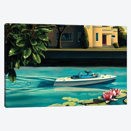 Uncharted Waters Canvas Print #RSJ42} by Ross Jones Canvas Artwork