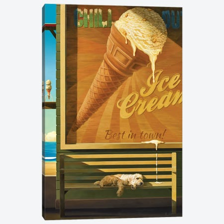 Chilling Out Canvas Print #RSJ44} by Ross Jones Canvas Print