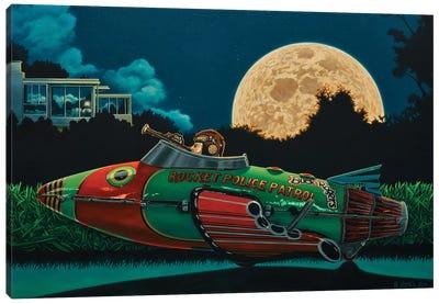 Moon Patrol Canvas Art Print
