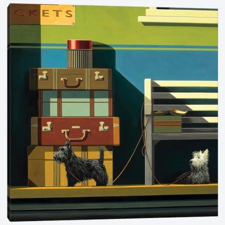Travelling Companions Canvas Print #RSJ4} by Ross Jones Canvas Print