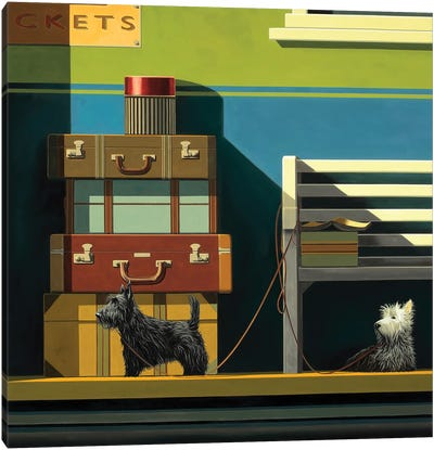 Travelling Companions Canvas Art Print