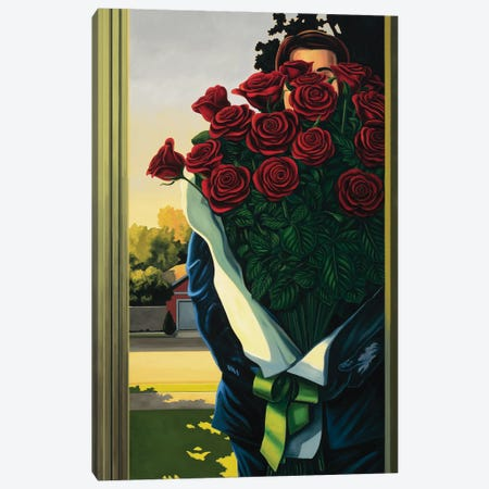 Anonymous Delivery Canvas Print #RSJ8} by Ross Jones Canvas Wall Art