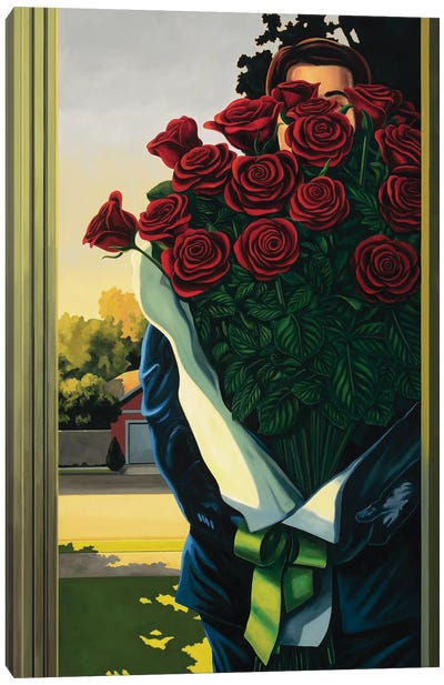 Anonymous Delivery Canvas Art Print