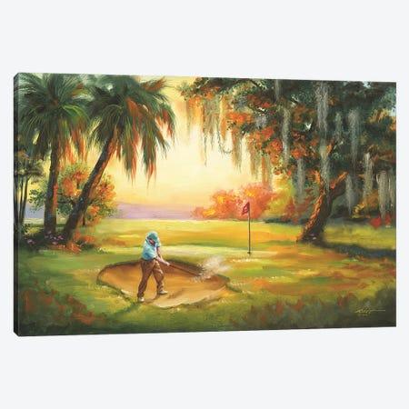 "Southern Golfer Canvas Print #RSR125} by D. ""Rusty"" Rust Art Print"