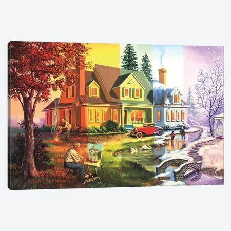 "Seasons Canvas Print #RSR184} by D. ""Rusty"" Rust Art Print"