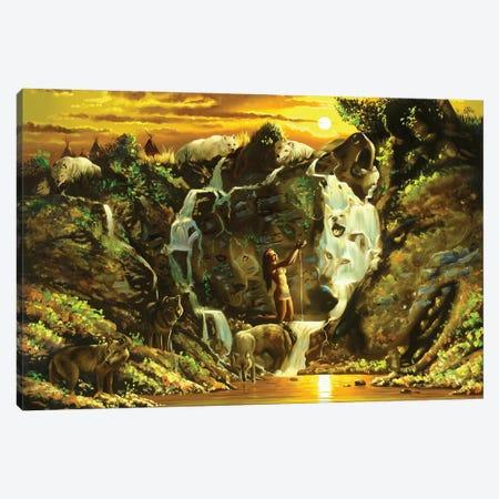 "Soolindian Canvas Print #RSR194} by D. ""Rusty"" Rust Canvas Wall Art"