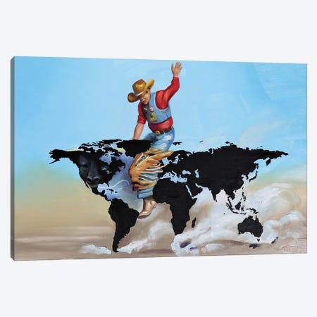 "World Champion Canvas Print #RSR211} by D. ""Rusty"" Rust Canvas Artwork"