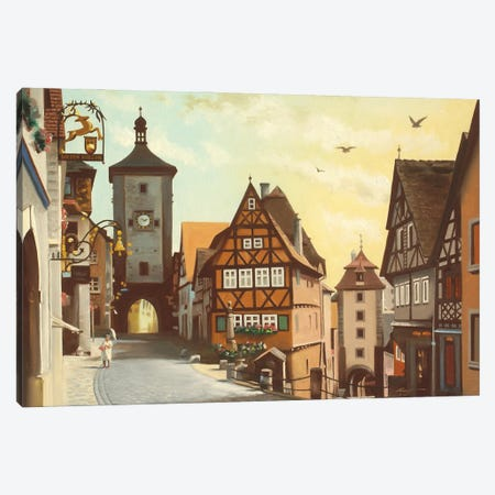 """Rothenberg, Germany Canvas Print #RSR280} by D. """"Rusty"""" Rust Canvas Art Print"""
