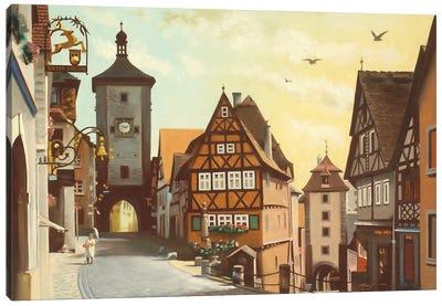 Rothenberg, Germany Canvas Art Print