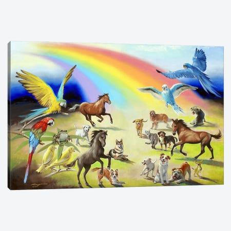"Rainbow Bridge Canvas Print #RSR294} by D. ""Rusty"" Rust Canvas Print"