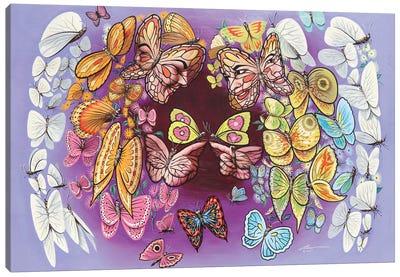 Angel'S Wings - Illusion Canvas Art Print