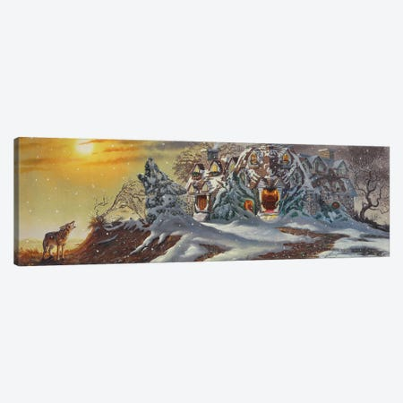 """Haunted Mansion - Illusion Canvas Print #RSR319} by D. """"Rusty"""" Rust Art Print"""
