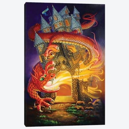 "Dragon Slayer Canvas Print #RSR336} by D. ""Rusty"" Rust Canvas Wall Art"