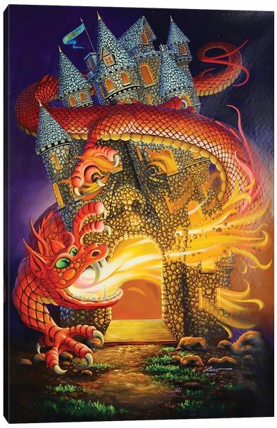 Dragon Slayer Canvas Art Print