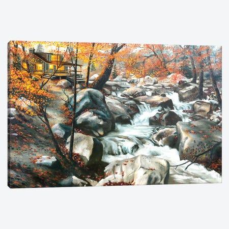 "Autumn Landscape Canvas Print #RSR374} by D. ""Rusty"" Rust Canvas Artwork"