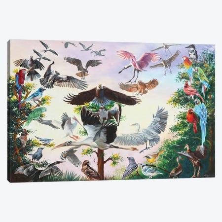 "Bird House Canvas Print #RSR424} by D. ""Rusty"" Rust Canvas Art"