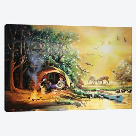 "Five Bucks - Illusion Canvas Print #RSR427} by D. ""Rusty"" Rust Canvas Artwork"